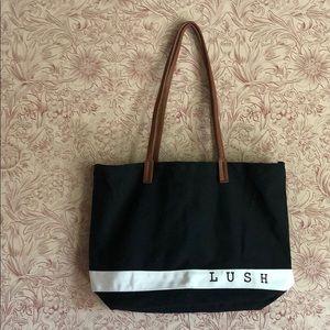 Large lush tote bag